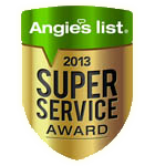 angies list service award 2013
